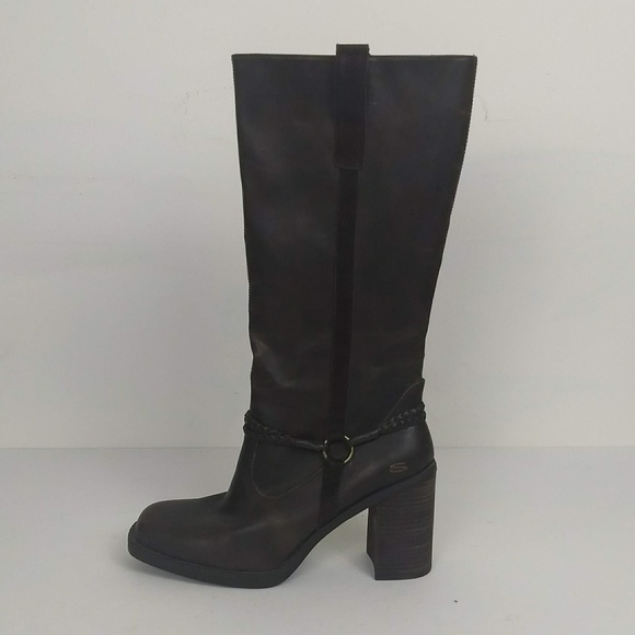 2f57a0c6ac0 Skechers Somethin Else High Heel Boots Size 10